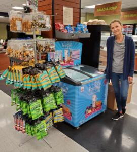 H&H Freezer & Snack Display